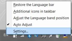 change Korean keyboard step 1