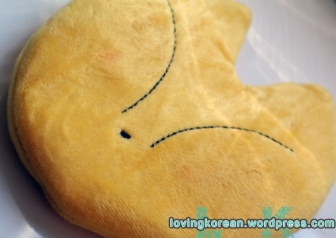 cute Korean fox oven mit