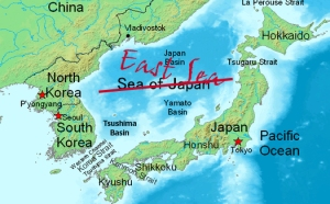 How to tell if Korean guy likes you - East Sea vs Sea of Japan