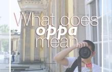 Korean oppa meaning