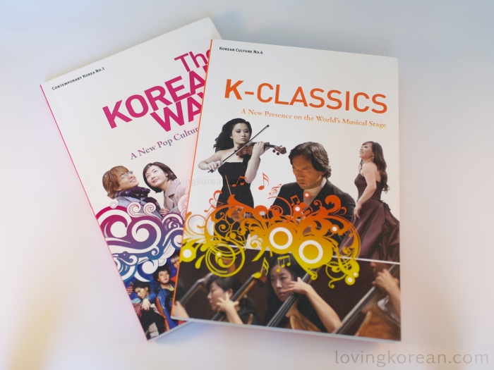 Korean culture booklets No 1 and 4 Korean Wave Hallyu and K Classics