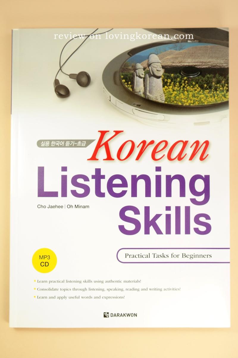 Korean listening skills practical tasks for beginners Cho Jaehee Oh Minam Darakwon